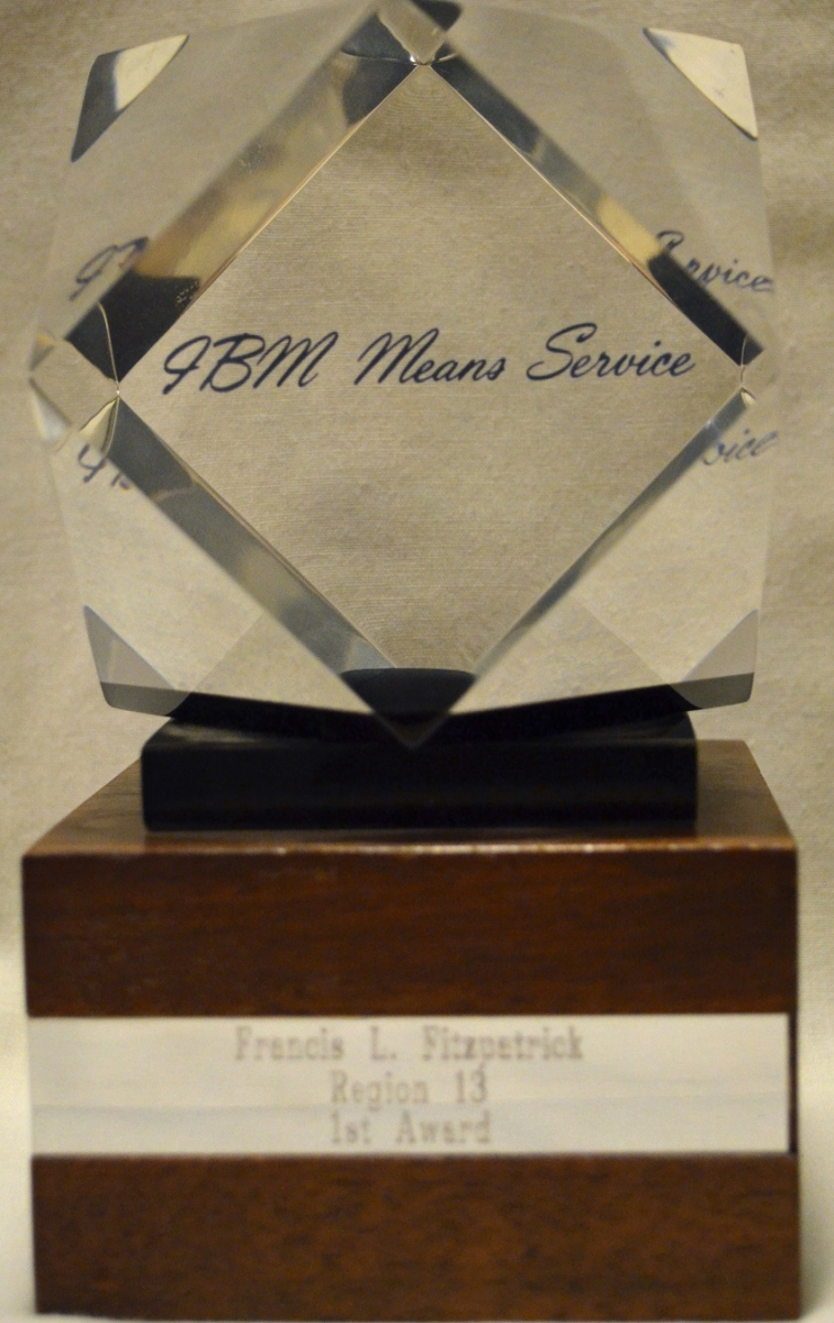 IBM Means Service Award